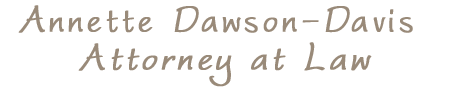 Annette Dawson-Davis Attorney at Law